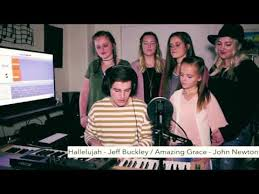 hallelujah amazing grace thanksgiving mashup by kenny