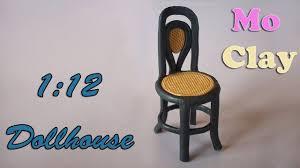 Diy Dollhouse Furniture Diy Dollhouse Polymer Clay Chair Sedia Scala 1 12 Casa De