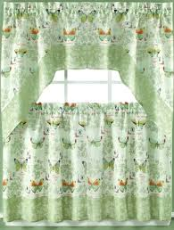 Green Checkered Curtains Kitchen Curtains Tiers Swags Valances Lace Kitchen Curtains