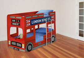 London Bus Bunk Bed Childrens Novelty Bunk Bed Kids Red Car - Kids novelty bunk beds