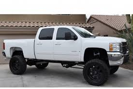 Wide Rims For Chevy Trucks Lifted White Chevy Black Rims Trucks U0026fastcars Pinterest