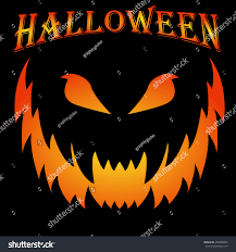 scary halloween background scary halloween background creepy grin vector stock vector