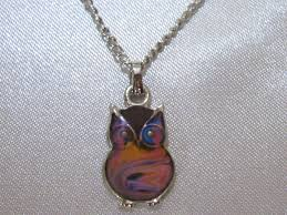necklace owl images Owl mood necklace best mood rings jpg