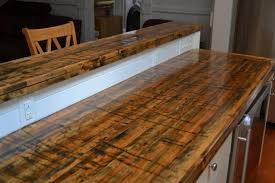 Maple Kitchen Pantry Cabinet Beautiful New Countertops Made From The Floors Of Railroad Cars