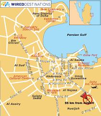 doha qatar map location map for sealine resort in qatar doha