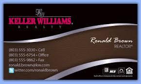 Keller Williams Business Cards Keller Williams Business Cards Premium Kw Templates By Sac Digital