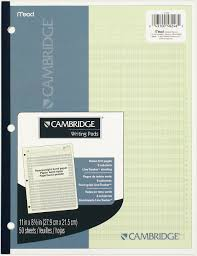 Mead Expense Tracker by Cambridge 6 Column Analysis Pad 58246 Mead