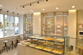 Interior Store Design And Layout Tea Shop And Pastry Store Lowell Lo Design Inc Architect