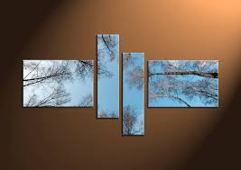 blue and brown wall art shenra com