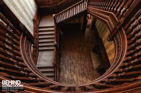 Looking Down Stairs by Stanford Hall Nottinghamshire Uk Urbex Behind Closed Doors