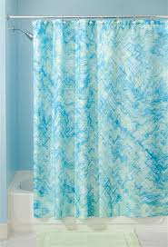 Blue And Green Shower Curtains Watercolor Shower Curtain Blue And Green College Supplies Shower