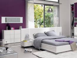 chambre blanc et violet chambre design violet purple photo conforama couleurs