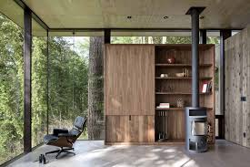 Pacific Northwest Design Architect Visit A Puget Sound Cabin That Rests Lightly On The