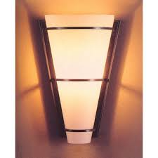 Hubbardton Forge Wall Sconces Hubbardton Forge Suspended Half Cone Wall Sconce With Opal Glass