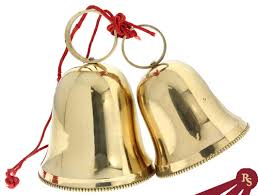 brass bell ornament set