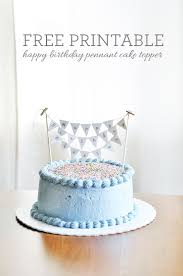 free printable birthday cake banner what s up with the buells free printable birthday cake pennant