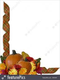 halloween background with border illustration of thanksgiving autumn fall ribbons border
