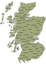 map of scotland and leith family of scotland