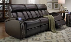 Leather Electric Recliner Sofa Furniture Find Your Maximum Comfort With Power Recliner Sofa