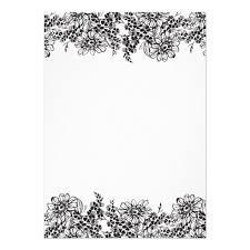 blank invitation templates blank wedding invitations rectangle
