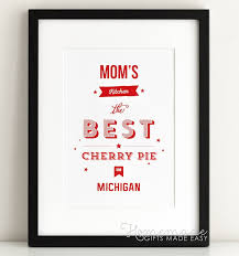 best gifts for mom personalized mom kitchen poster gift