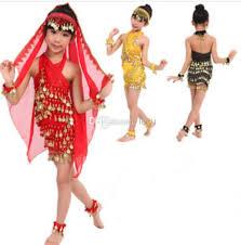 Belly Dance Halloween Costume 2017 Young Children Costumes Girls Belly Dance Latin Dance