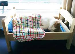 ikea furniture donation shelter cats get a good night s sleep thanks to tiny beds donated by