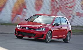 volkswagen gti blue 2017 2017 volkswagen golf gti tested review car and driver
