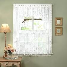 Damask Kitchen Curtains by White Valance Curtains U2013 Teawing Co