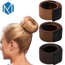 hair bun maker aliexpress buy m mism hair bun maker donut