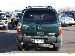 nissan xterra 2015 green alpine green metallic 2002 nissan xterra xe v6 sc 4x4 exterior