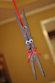 clothespin reindeer ornaments and jewelry