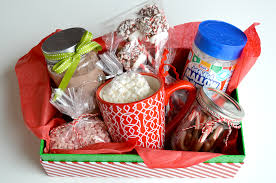 christmas gift baskets family diy hot chocolate kit