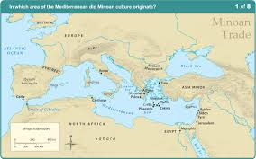 Asia Minor Map by History Minoan Trade Routes Learning Liftoff