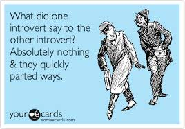 Introvert Meme - humor associated with introverts justcorjustcor