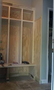 doug bolt woodworking lockers with bead board wainscot