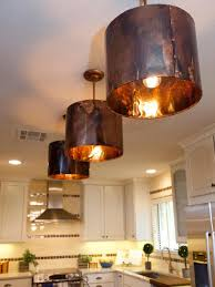 kitchen island rustic copper pendant lamp shade for kitchen