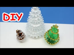 diy crafts ideas how to make tree out of milk container