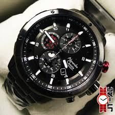 Jam Tangan Alexandre Christie Terbaru Pria tangan ac 6453mcab all black alexandre christie terbaru