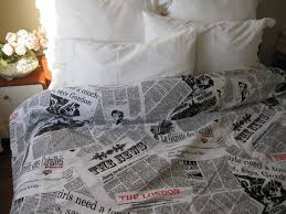 Newsprint Comforter Newspaper Duvet Cover Images Reverse Search