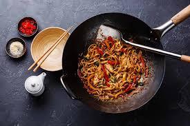 cuisiner wok china wok