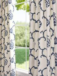 Navy Patterned Curtains Inspiring Navy Blue Patterned Curtains And 650 Best Window