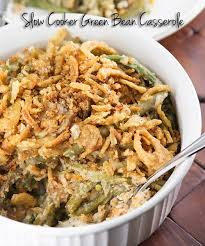 cooker green bean casserole recipe