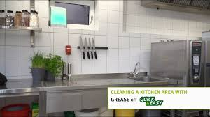cleaning a kitchen area with grease off quick u0026easy youtube