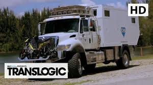 survival truck camper unicat terracross expedition vehicle translogic youtube