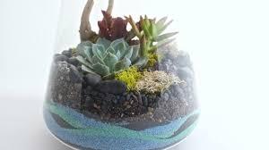 how to make a sand terrarium sunset