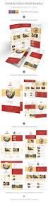 chinese restaurant menu print template bundle psd vector eps