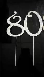 40 cake topper large cake silver topper number clear rhinestone diamante 40