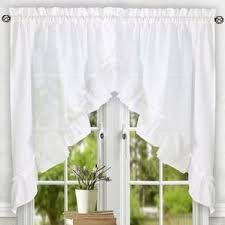 How To Make Ruffled Curtains Swag Curtains U0026 Valances You U0027ll Love Wayfair