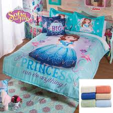 Disney Princess Twin Comforter Disney Princess Sofia 9 Pc Fleece Comforter Set Full Bundled With